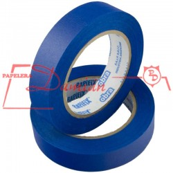 Cinta Papel Enmascarar Obra Rapifix Azul Uv 24mm X50mt